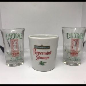 Spotted Shot Glasses - 3 count